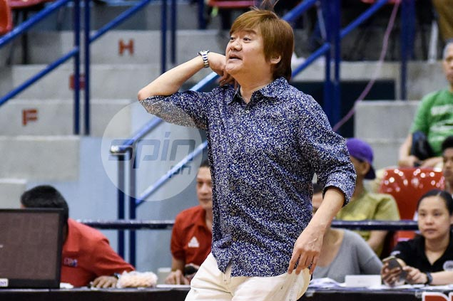 Tanduay coach Lawrence Chongson braces for big Cignal-San Beda fightback