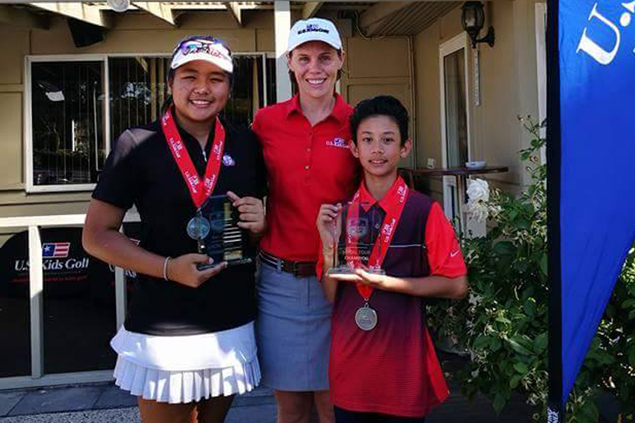 Davao jungolfers Ella and Daniel Nagayo win in Melbourne, punch ticket to US Kids