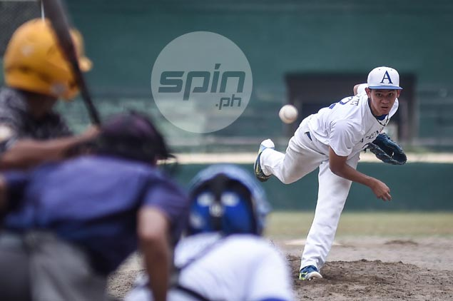 Blue Batters deal Archers first loss, gain share of lead in UAAP baseball