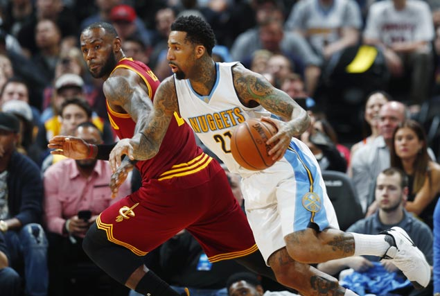 Hot-shooting Nuggets play spoiler as Cavs start main unit for the first time in three months
