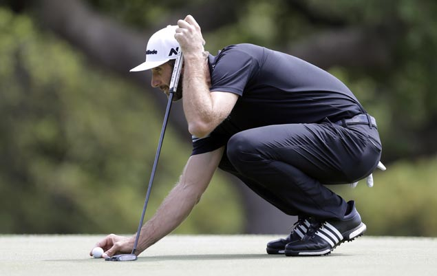 As other stars struggle on opening day, world No. 1 Dustin Johnson cruises to victory
