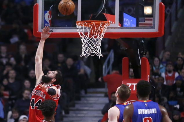 Nikola Mirotic scores season-high 28 as Bulls defeat Pistons