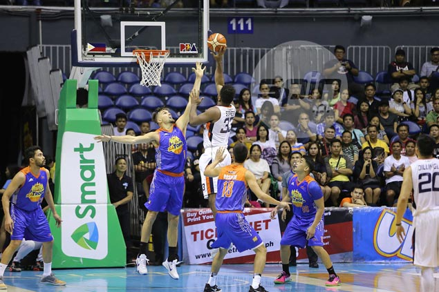 As dominant as he already is, Alex Stepheson feels he can still get a lot better for Meralco