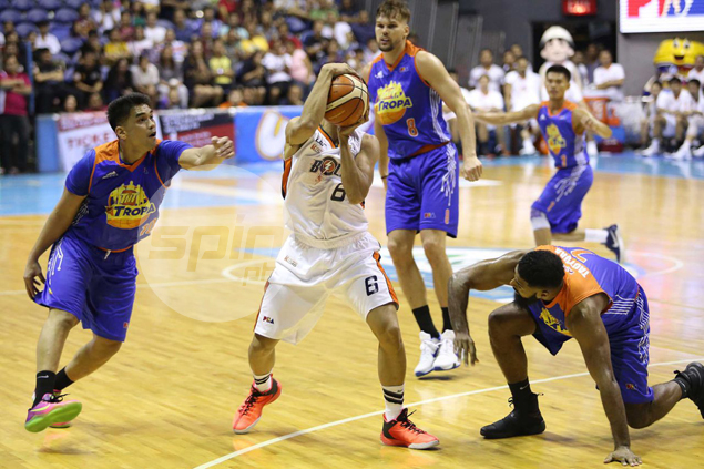 Meralco Bolts continue resurgence behind import Stepheson, turn tables on TNT