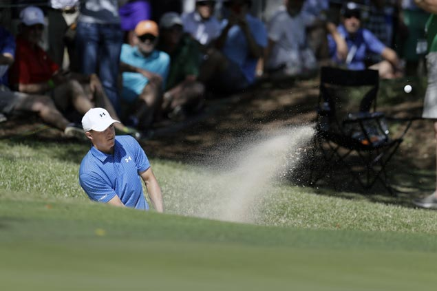 Jordan Spieth blows big lead but grinds out win over Yuta Ikeda at World Match Play