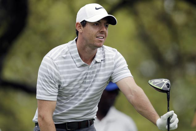 Rory McIlroy suffers early exit as big wind leads to wild outcomes at World Match Play