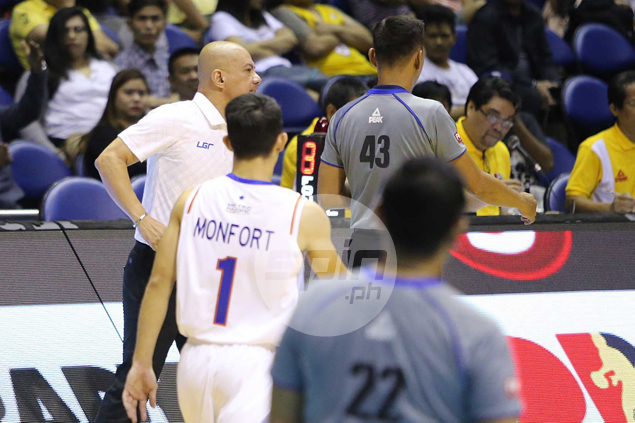 Eric Camson, Yeng Guiao bear brunt in first round of fines meted in Commissioner's Cup