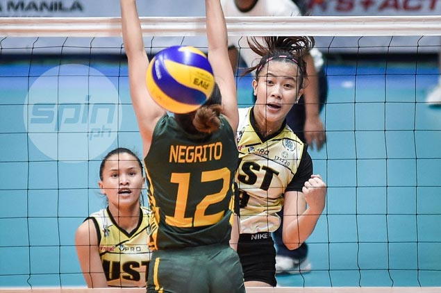 Tigresses overcome Lady Tamaraws to gain share of third spot in UAAP women's volleyball