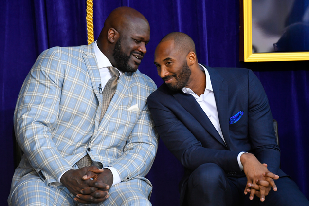 Kobe Bryant pays tribute to Shaq: 'The most dominant player I've ever seen'