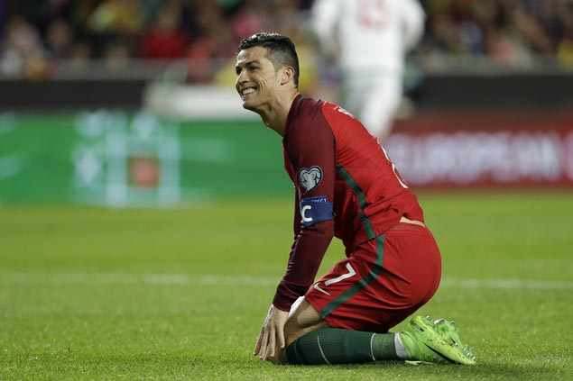 Cristiano Ronaldo hits 70th international goal as Portugal blanks Hungary in World Cup qualifiers