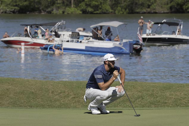 Dustin Johnson marches on to Match Play semifinals but Phil Mickelson falls