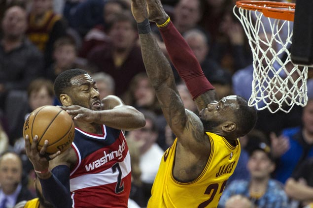 Wizards make it back-to-back wins as Cavaliers' up-and-down ride continues