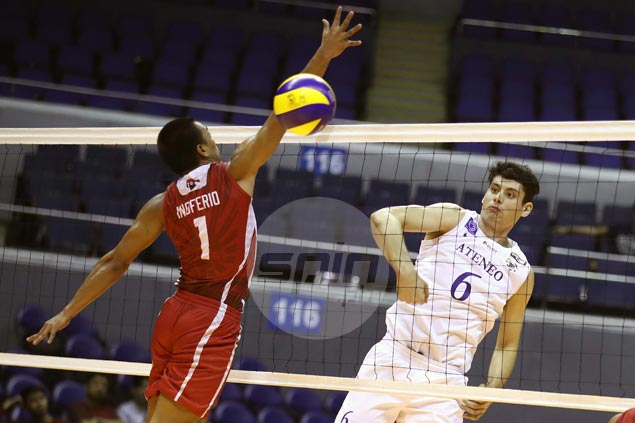 Ateneo Blue Eagles two wins away from UAAP volley elims sweep after rout of lowly UE Warriors