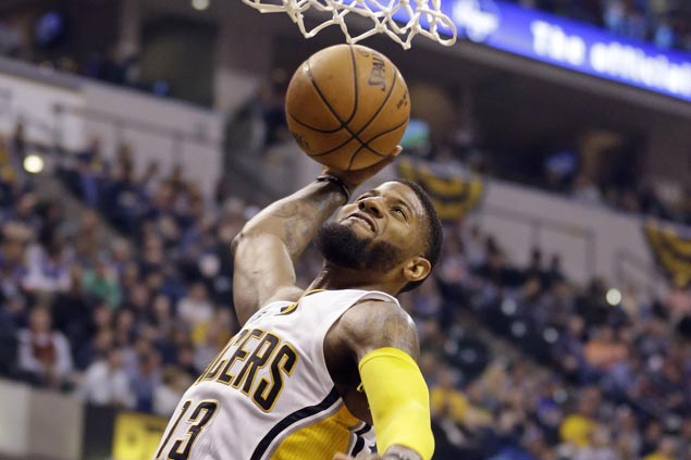 Pacers halt two-game slide with victory over Sixers but lose Al Jefferson to injury