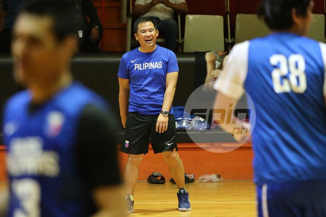 Chot Reyes deems it best to keep pool intact when Gilas shifts to daily practices April 10