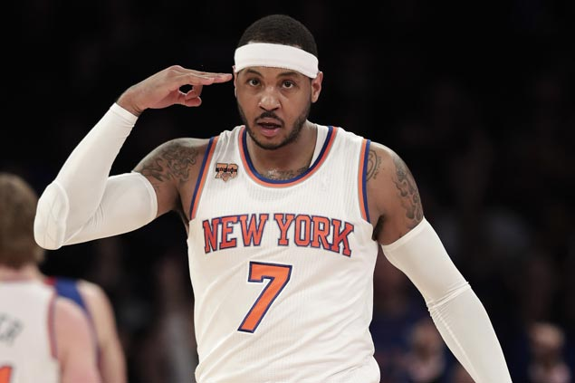 Rose, Anthony, Porzingis combine for 73 as Knicks beat Pistons to end five-game skid
