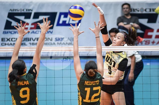 EJ Laure confident UST Tigresses on track for return to UAAP volleyball Final Four