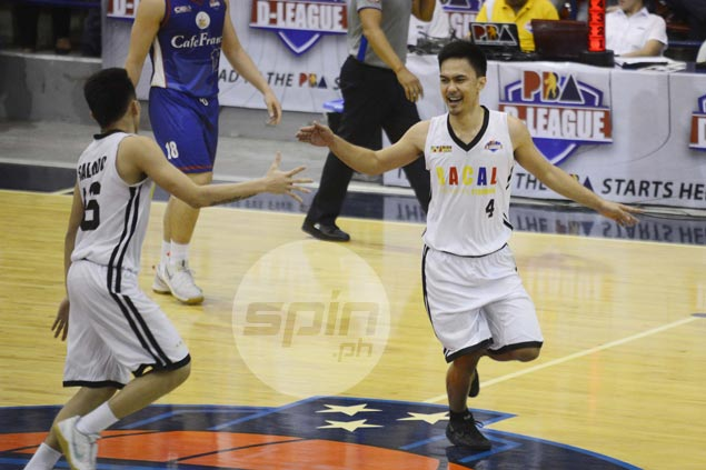 Experience goes a long way as Allan Mangahas brings Racal to cusp of maiden D-League title