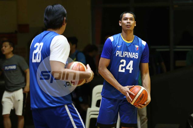 Japeth Aguilar ready to be last line of defense as Ginebra fields shortest import in Brownlee
