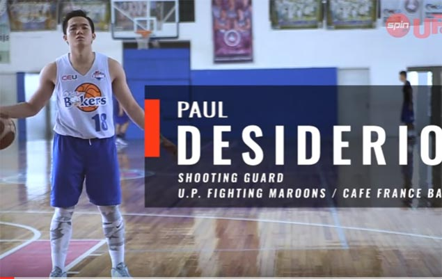 Wondering why Paul Desiderio is now one of UAAP's best players? SeeSPIN.ph Up N Coming video