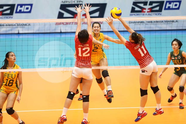 FEU Lady Tamaraws rip also-ran UE Lady Warriors to keep semis hopes alive