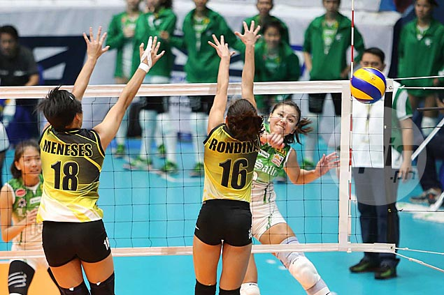 La Salle Lady Spikers beat UST Tigresses in straight sets to gain twice-to-beat advantage