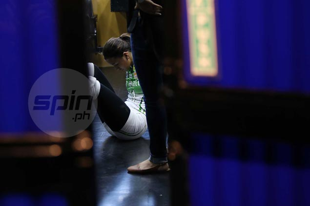 La Salle's Kim Dy calms fears over ankle injury, confident she'll be fit for Ateneo match