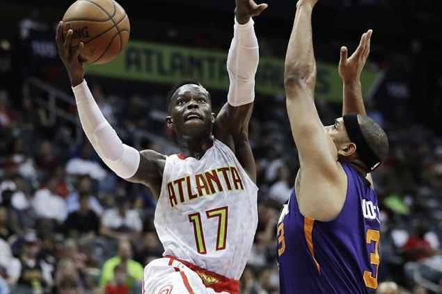 Schroder leads late surge to break Hawks 7-game slump and sink Suns to ninth straight loss