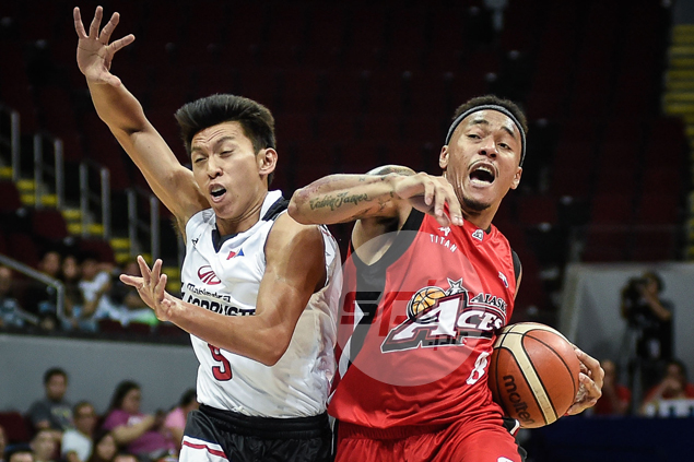 Calvin Abueva hopes Gilas can put in the work while entertaining fans in All-Star games