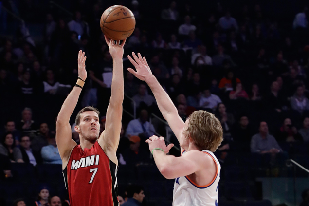 Heat boost postseason bid and eliminate Knicks from playoff contention