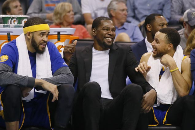 Warriors say Kevin Durant on track to return in final three games of regular season