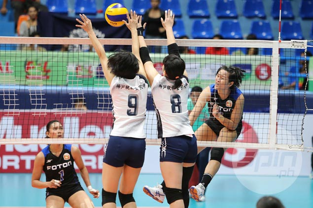 Grethcel Soltones plays down praise from Japanese coach, urges Foton to step up