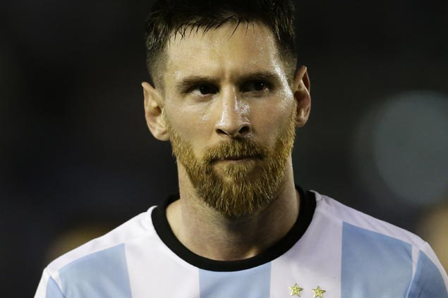 New Argentina football federation head blasts four-match ban on Messi as 'unfair, irregular'