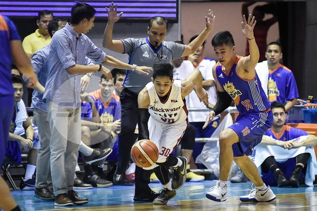 Blackwater recruit Mark Cruz determined to make most of second chance in PBA