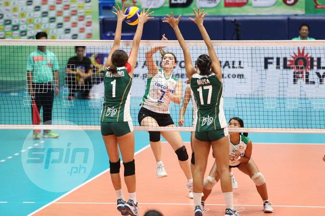 Cocolife outlasts Sta Lucia to close in on fourth place finish in Super Liga Invitational