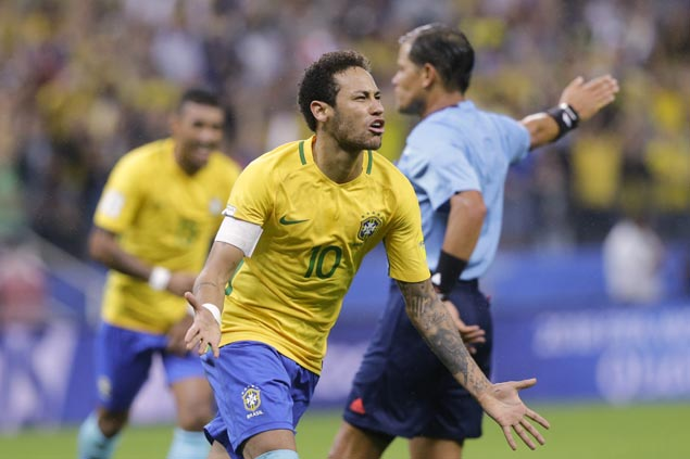 Neymar out up to three months with toe injury but expected to play in World Cup