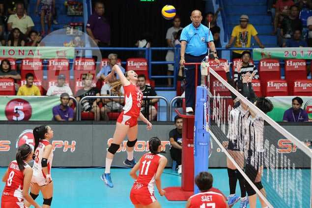 Kobe Shinwa University moves on cusp of PSL title sweep after dispatching Cignal