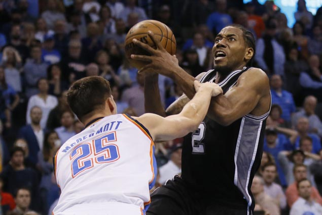 Spurs fight back from 21 down to beat Thunder even as Westbrook posts 39th triple-double of season