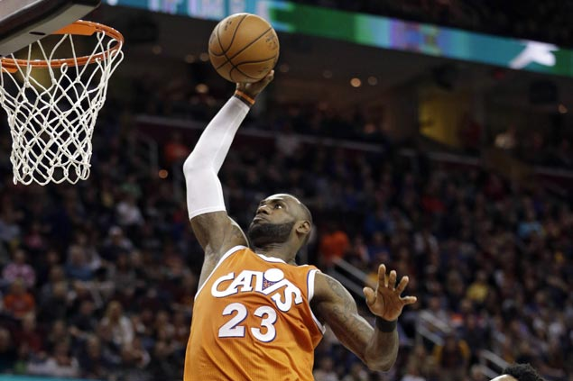 Cavaliers arrest three-game slide with rout of lowly Sixers