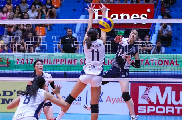 Kobe Shinwa downs Petron in four to complete three-match sweep and claim PSL Invitational crown