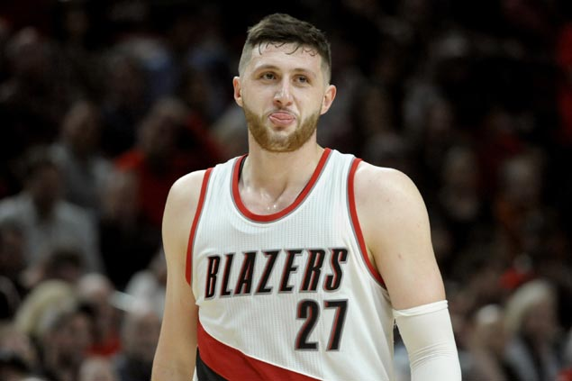 Blazers playoff bid hits snag as fractured leg takes out Jusuf Nurkic for rest of regular season