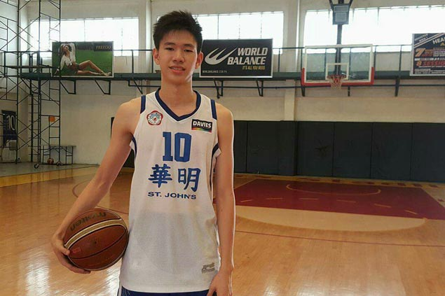 Bacolod teen Daniel Coo out to make most of chance to try out for Batang Gilas spot