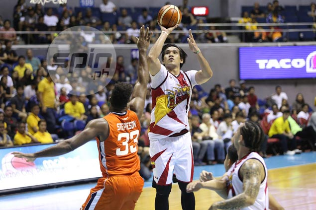 Fajardo says banging against big guys like Stepheson toughen him up for Gilas return