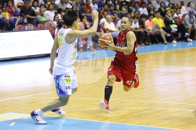 JVee Casio the least surprised to see rookie Mike Tolomia nearly steal win for RoS
