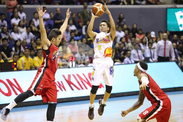 Mike Tolomia's heads-up play a silver lining for RoS as Ahanmisi, Tiu earn coach's ire