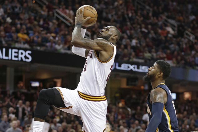 Cavaliers outlast Pacers in double overtime for second straight victory