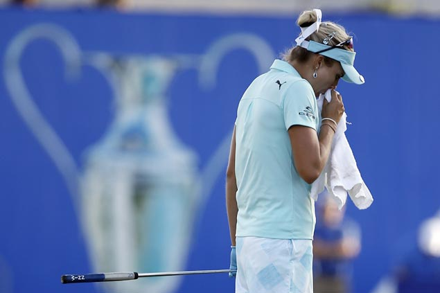 Lexi Thompson handed four-stroke penalty a day late, loses to So Yeon Ryu inplayoff for year's first major