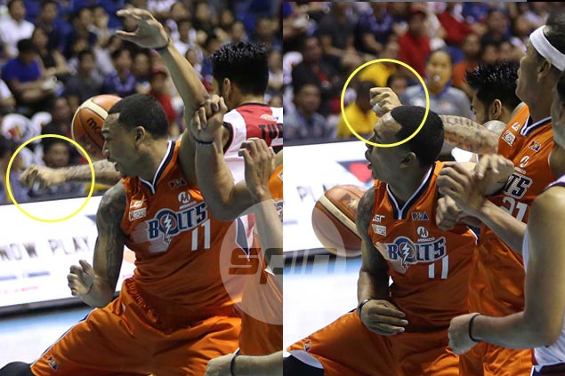 Ronald Tubid suspended two games, fined P30,000 for flagrant foul on Chris Newsome
