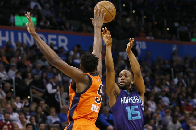 Charlotte ends long run of futility in OKC, spoils Russell Westbrook's 40th triple-double