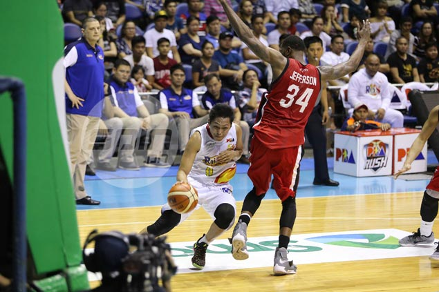No regrets for Mike Tolomia after late turnover dampens breakout game for RoS
